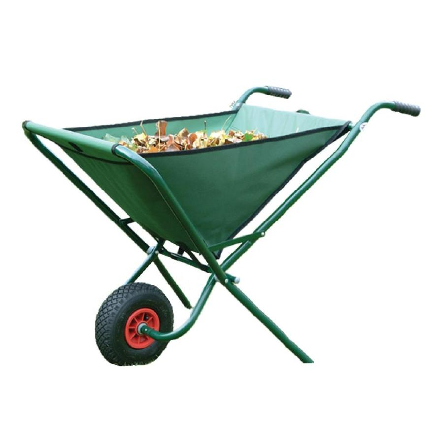 Bosmere 3.25-cu ft Folding Poly Wheelbarrow