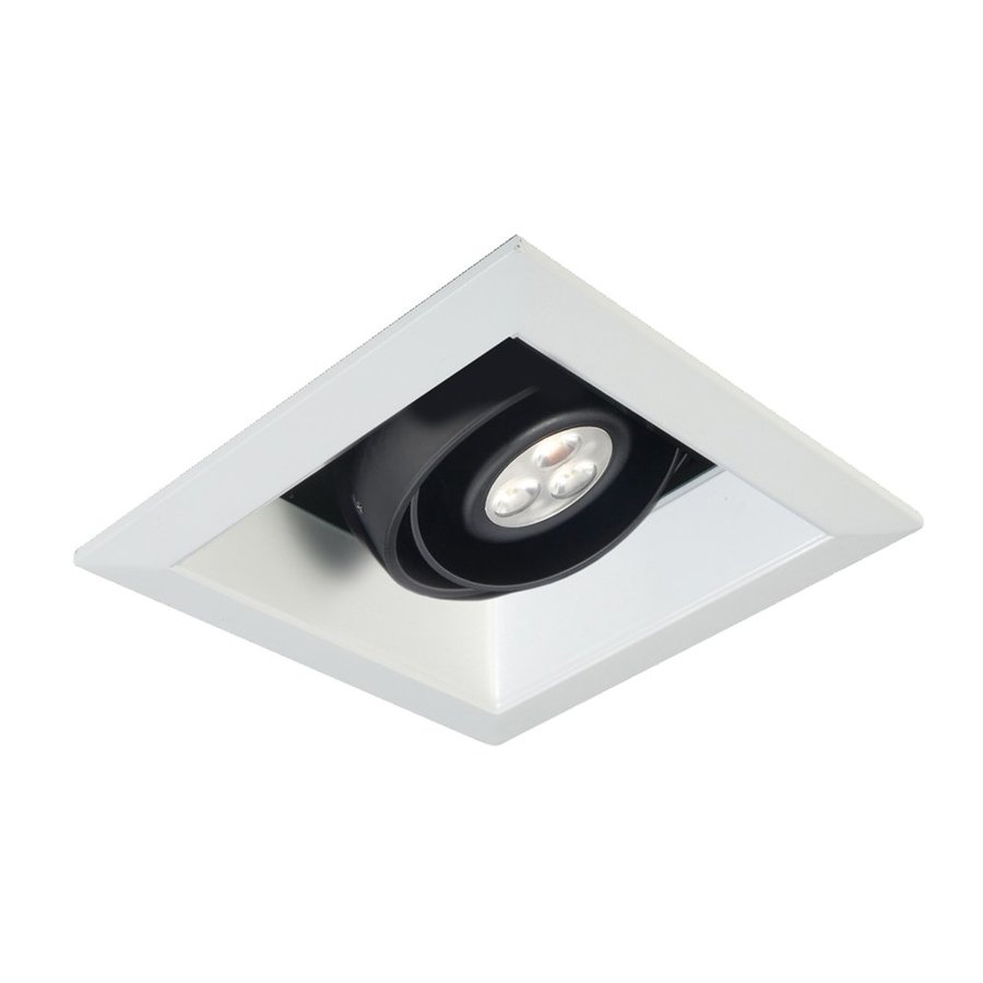 Led Recessed Lighting Kit New Construction : Eurofase black led remodel and new construction