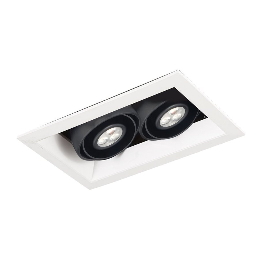 Eurofase Black LED Remodel and New Construction Recessed Light Kit