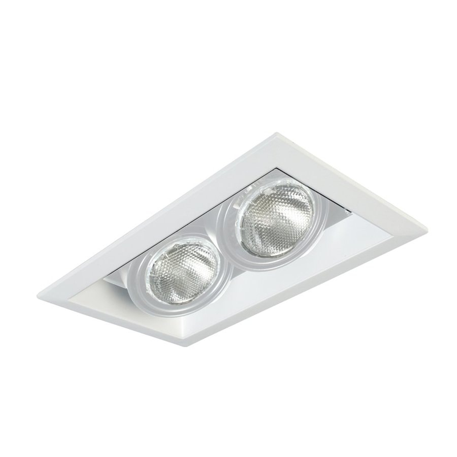 Eurofase White Remodel and New Construction Recessed Light Kit