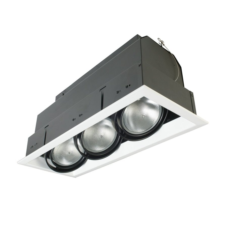 Eurofase Black Standard Remodel and New Construction Recessed Light Kit