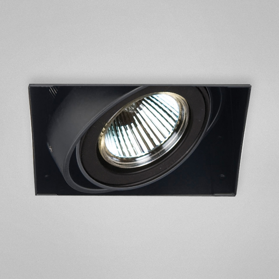 Eurofase Black Remodel Construction Recessed Light Kit