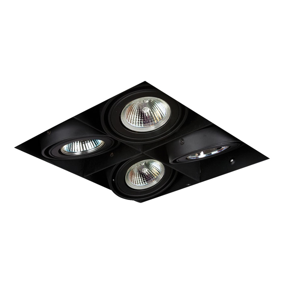 Shop Eurofase Black Remodel And New Construction Recessed Light Kit At