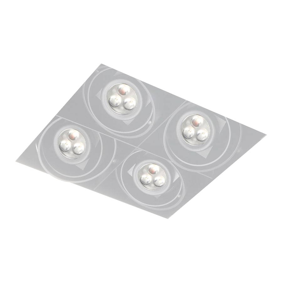 Led Recessed Lighting Kit New Construction : Eurofase white led remodel and new construction