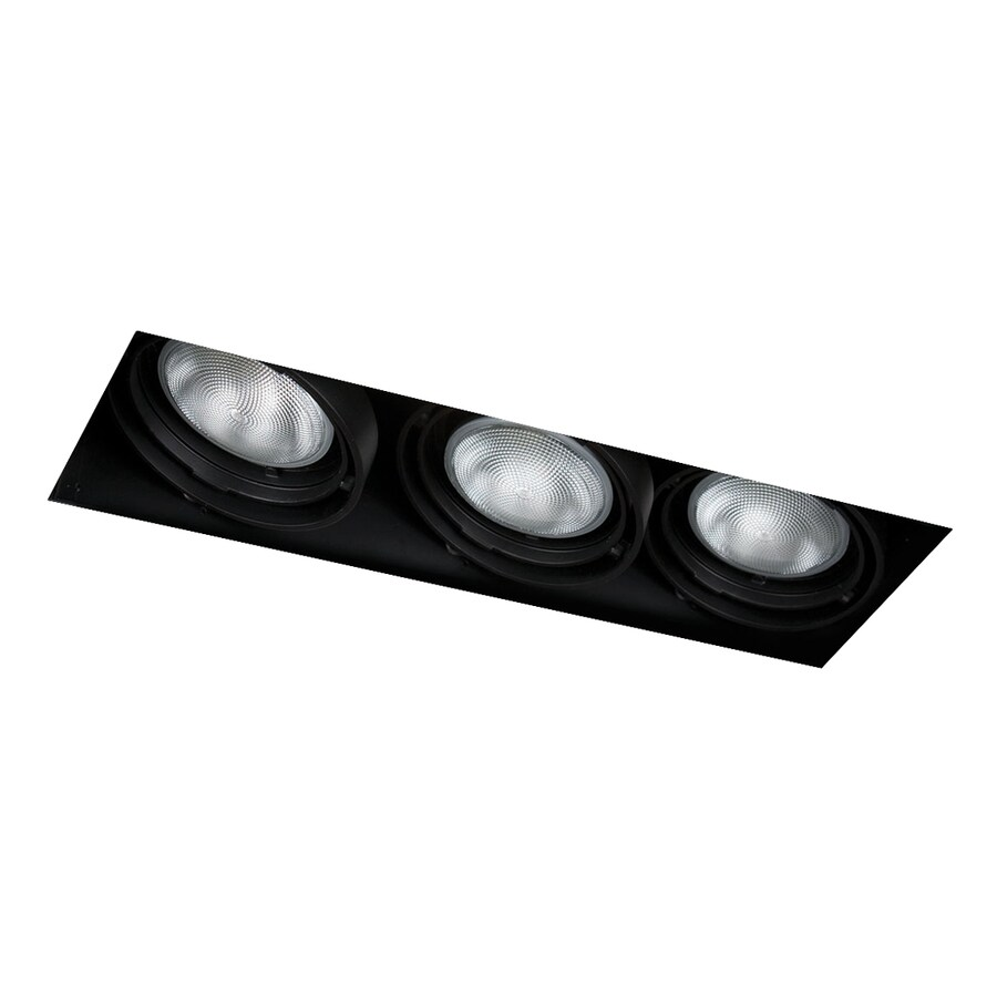Eurofase Black Remodel and New Construction Recessed Light Kit