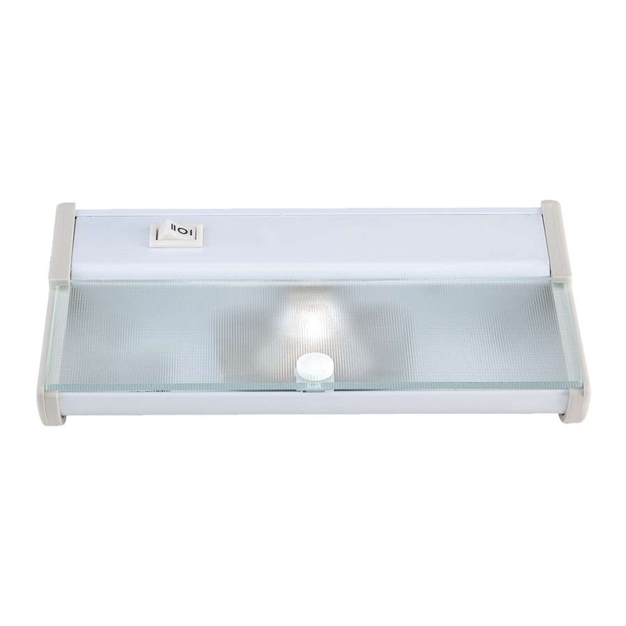 Eurofase 8-in Plug-in Under Cabinet Incandescent Light Bar