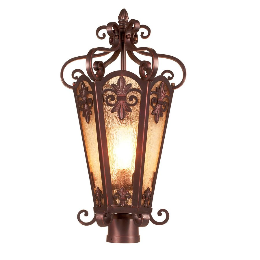 Eurofase Lonsdale 25-in H Antique Sable Post Light