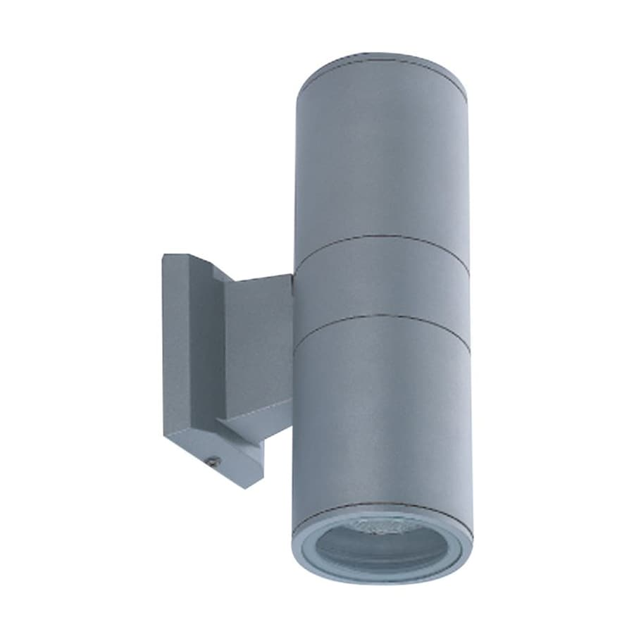 Eurofase 10.25-in H Grey Medium Base (E-26) Outdoor Wall Light