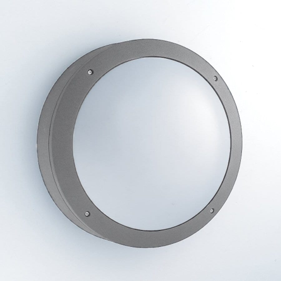 Eurofase 10.5-in H Grey Outdoor Wall Light