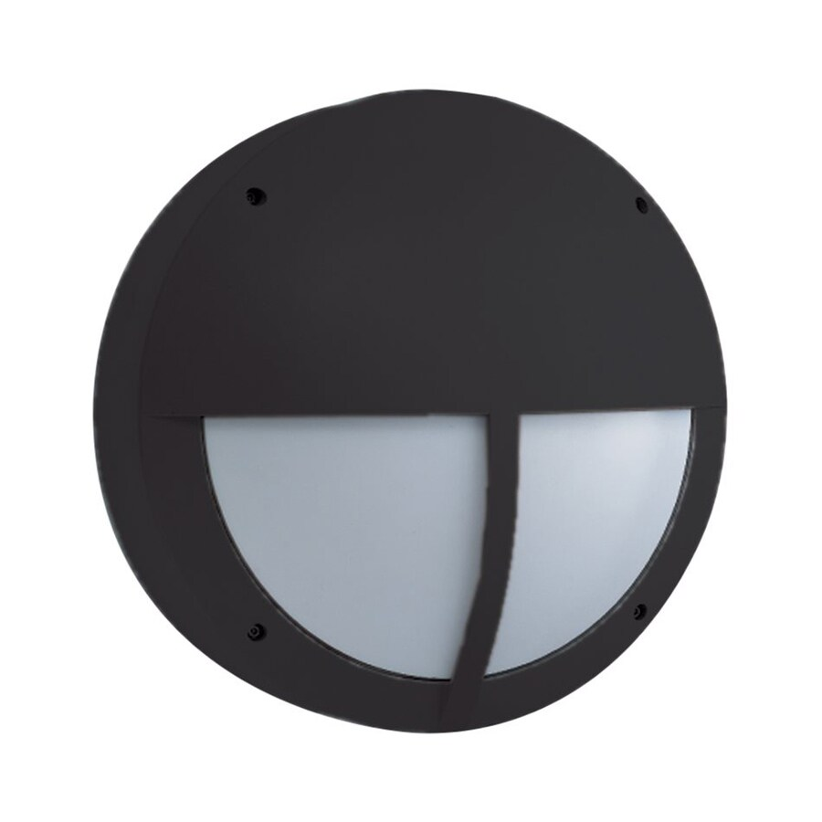 Eurofase 14.5-in H Black Outdoor Wall Light