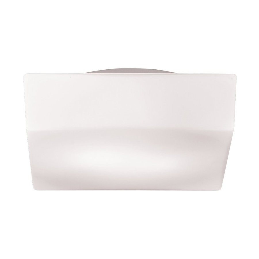 Eurofase Amata 12-in W White Blown Matte Glass Flush Mount Light