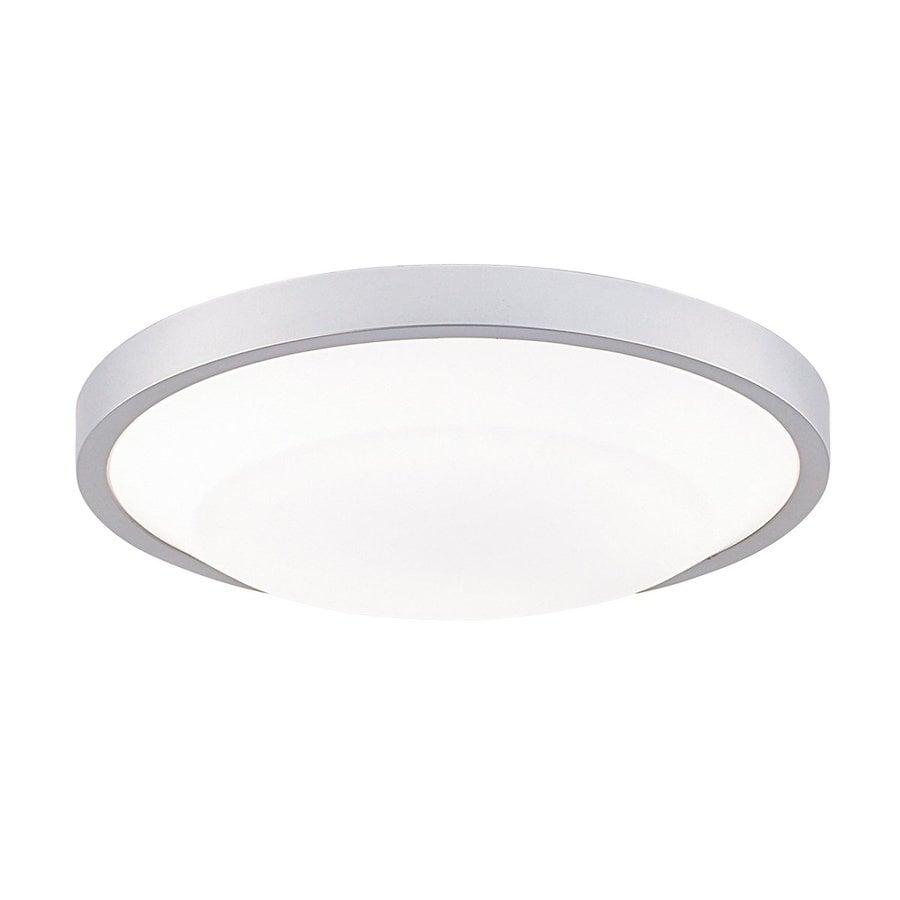Eurofase Look 17.5-in W Platinum Ceiling Flush Mount Light