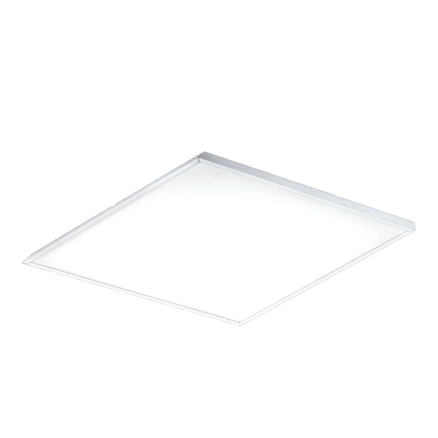 Eurofase LED Panel 11.75-in W White LED Ceiling Flush Mount Light