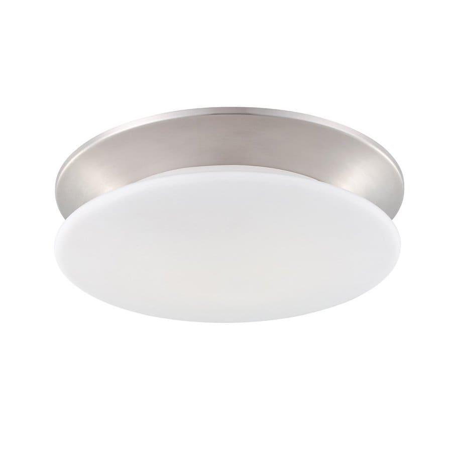 Eurofase Crown 14.25-in W Satin nickel Flush Mount Light