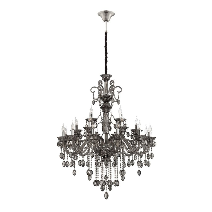 Shop eurofase venetian 4025 in 21 light smoke crystal tiered eurofase venetian 4025 in 21 light smoke crystal tiered chandelier aloadofball Image collections