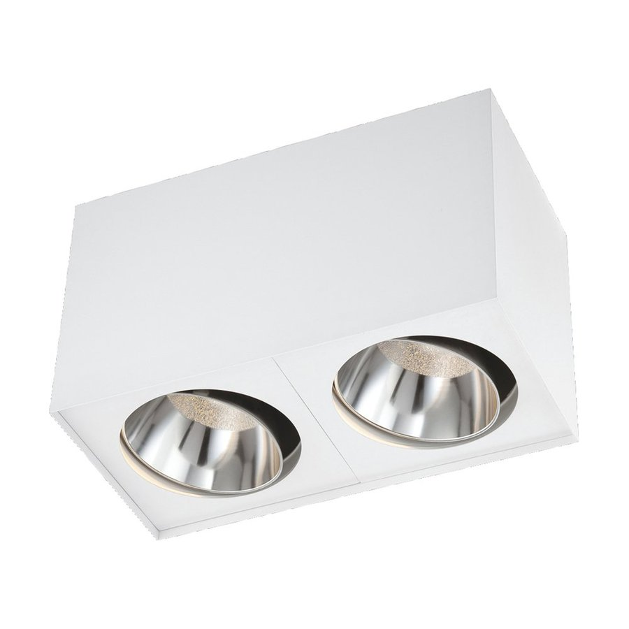 Eurofase 12-in W White LED Flush Mount Light