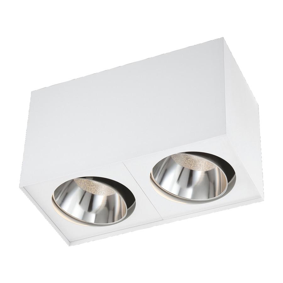 Eurofase 12-in W White LED Flush Mount Light