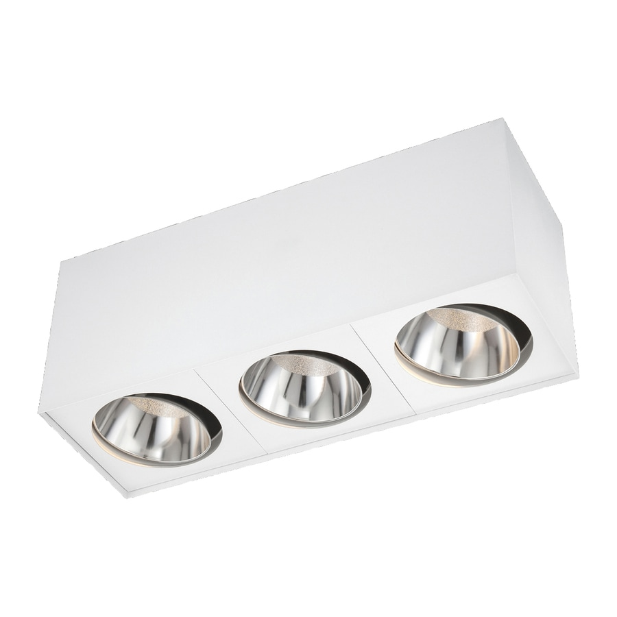 Eurofase 18-in W White LED Flush Mount Light