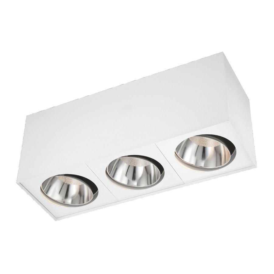Eurofase 6-in W White LED Ceiling Flush Mount Light