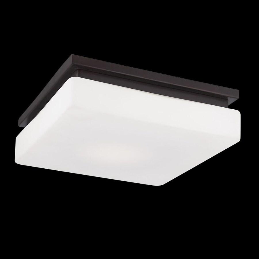 Eurofase Ellsworth 11.5-in W Bronze LED Flush Mount Light