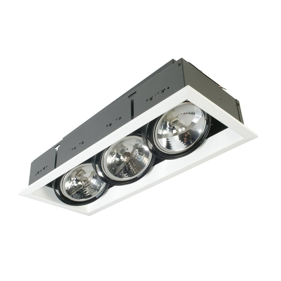 Eurofase Trim 50-Watt Equivalent White LED Recessed Retrofit Downlight