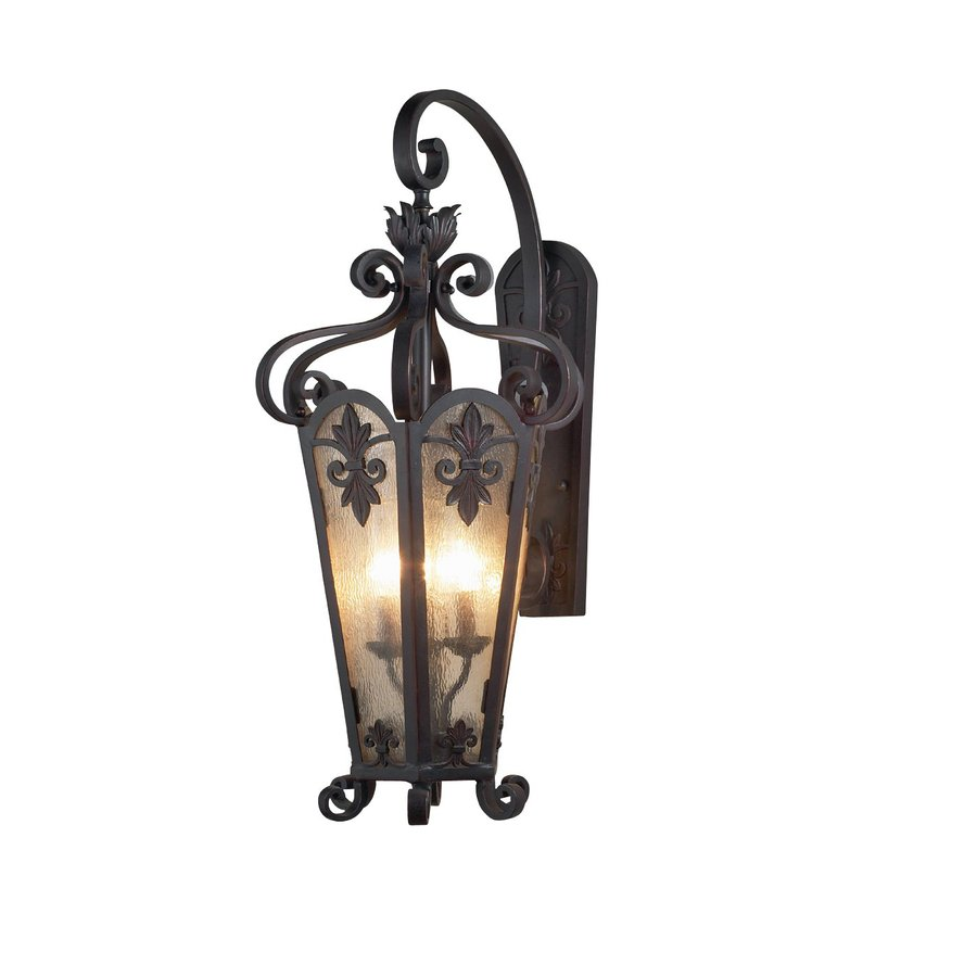 Eurofase Lonsdale 16-in W 1-Light Antique Sable Arm Wall Sconce