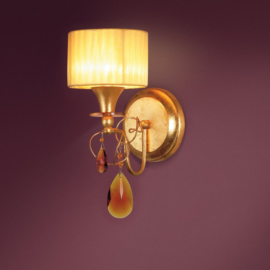 Eurofase Tempest 8-in W 1-Light Aged Gold Arm Wall Sconce