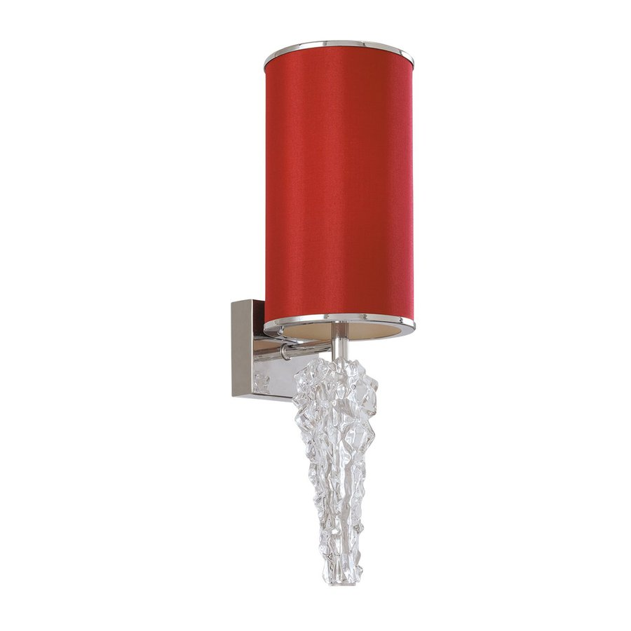 Eurofase Luxuria 6-in W 1-Light Red Arm Wall Sconce