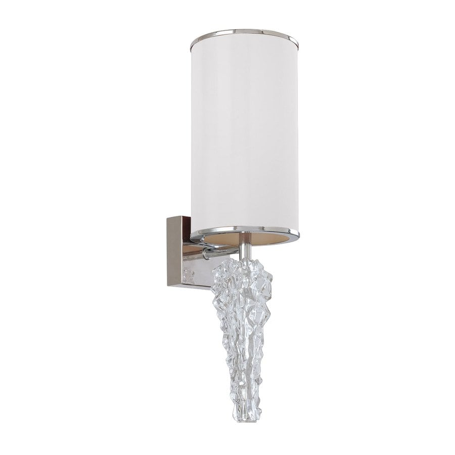 Eurofase Luxuria 6-in W 1-Light Chrome Arm Wall Sconce