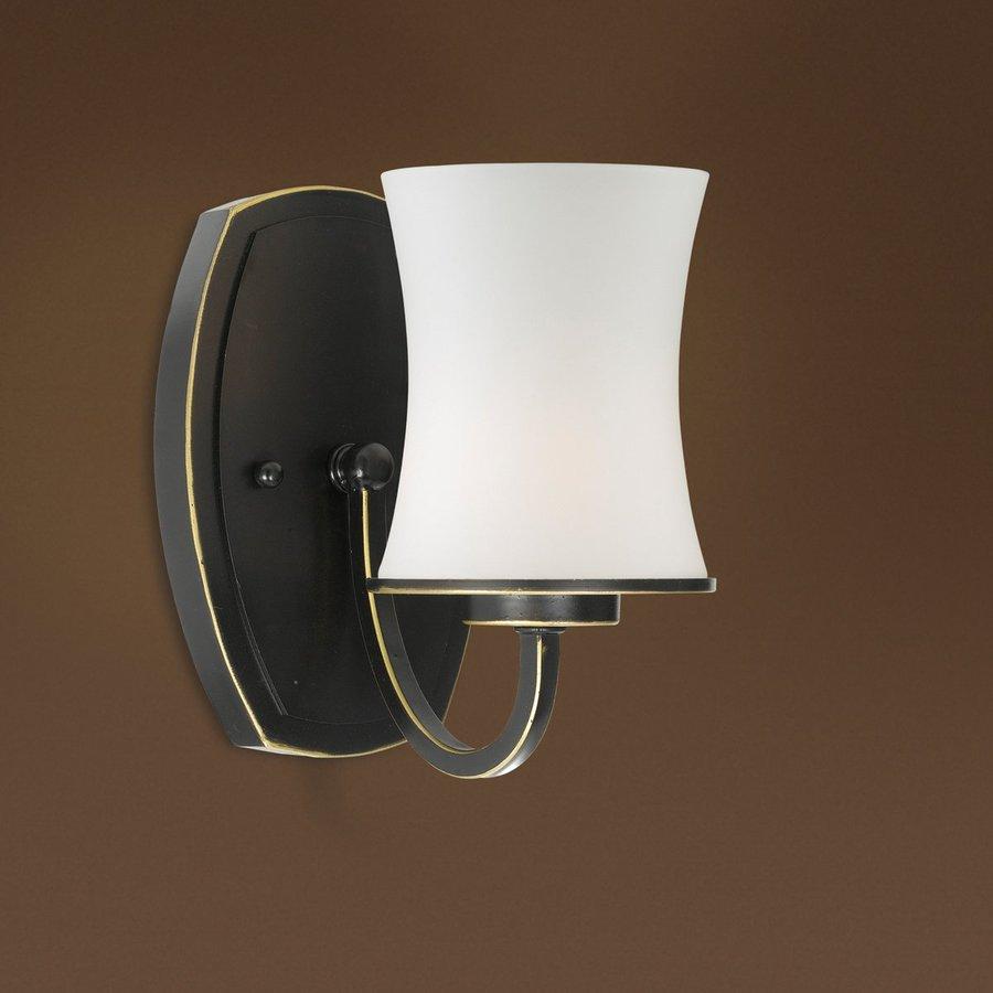 Shop Eurofase Dorado 5-in W 1-Light Aged Bronze Arm Wall Sconce at ...