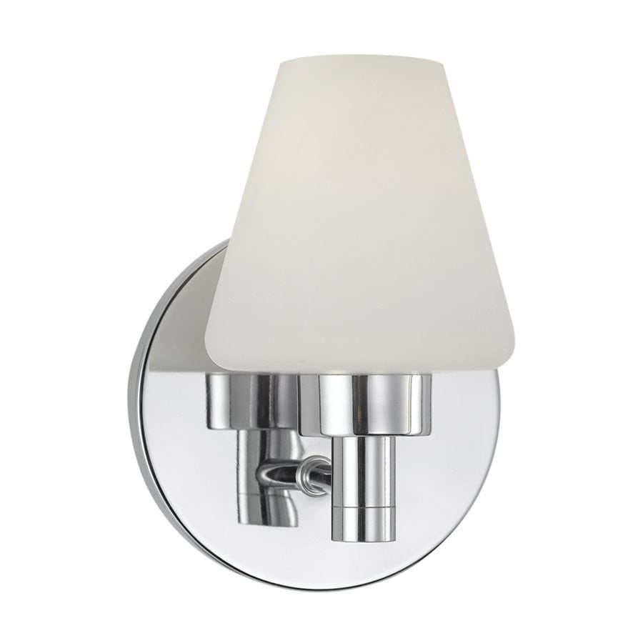 Eurofase Dolante 5-in W 1-Light Chrome Arm Wall Sconce