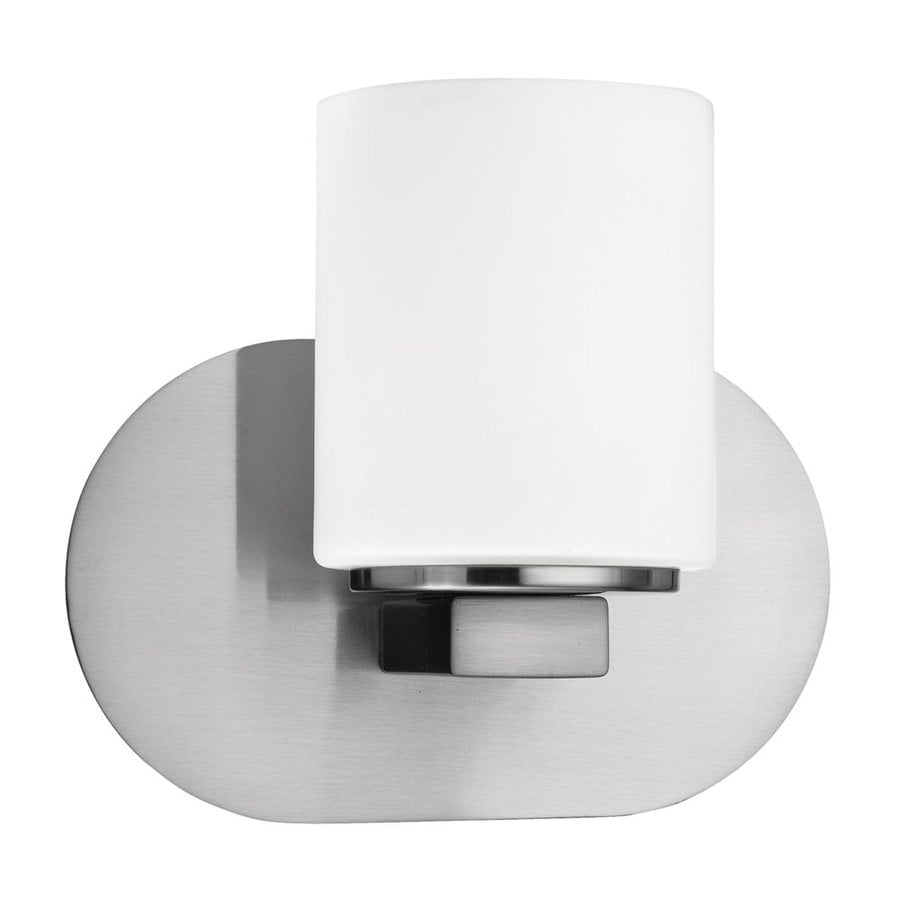 Eurofase Evry 8.13-in W 1-Light Satin Nickel Arm Wall Sconce