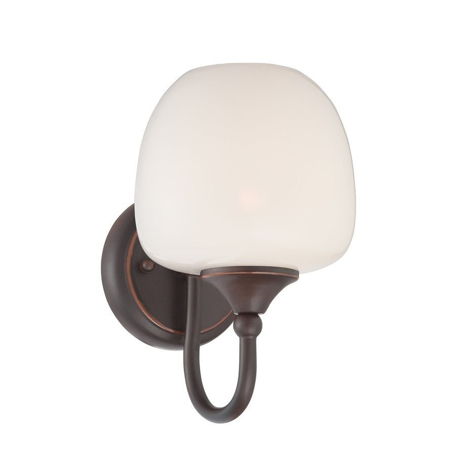 Eurofase Paloma 6-in W 1-Light Oil Rubbed Bronze Arm Wall Sconce