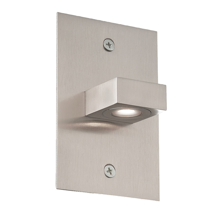 Eurofase 3-in W 1-Light Satin Nickel Arm LED Wall Sconce