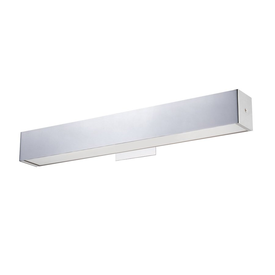 Eurofase Anello 25.25-in W 1-Light Chrome Arm Hardwired Wall Sconce