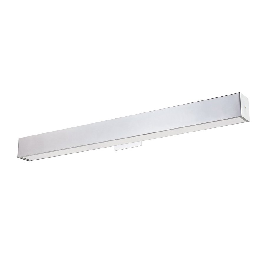 Eurofase Anello 37.25-in W 1-Light Chrome Arm Hardwired Wall Sconce