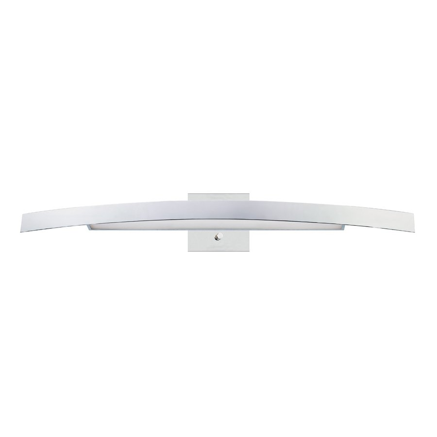 Eurofase Sahar 39.5-in W 1-Light Chrome Arm Hardwired Wall Sconce