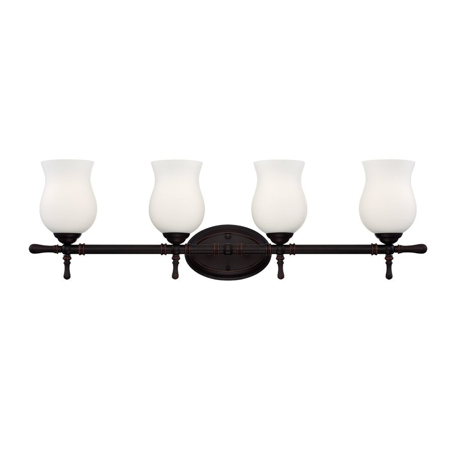 Eurofase Regency 4-Light Oil Rubbed Bronze Vanity Light