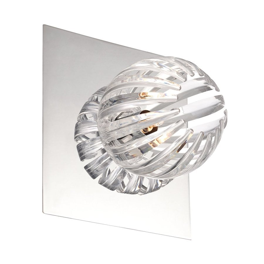 Eurofase Cosmo 7-in W 1-Light Chrome Arm Wall Sconce