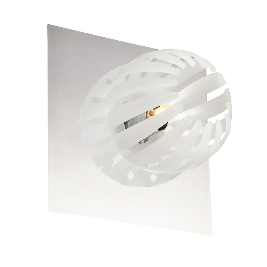 Eurofase Cosmo 7-in W 1-Light Chrome Arm Hardwired Wall Sconce