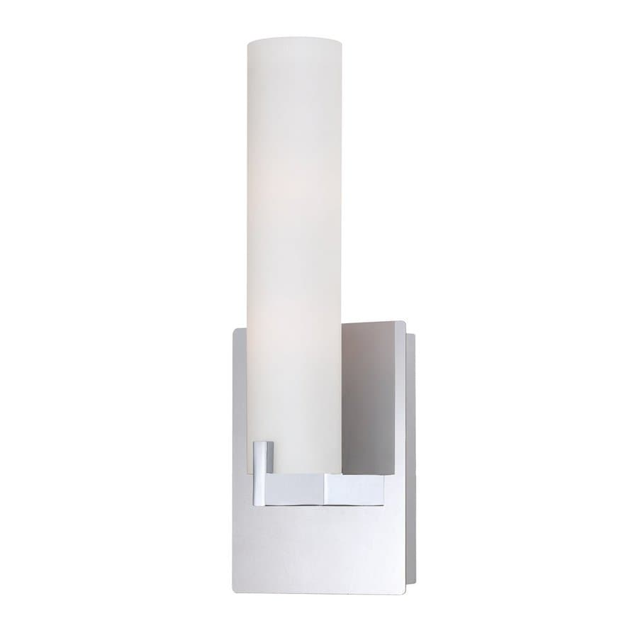 Eurofase Zuma 5.25-in W 1-Light Chrome Arm Hardwired Wall Sconce