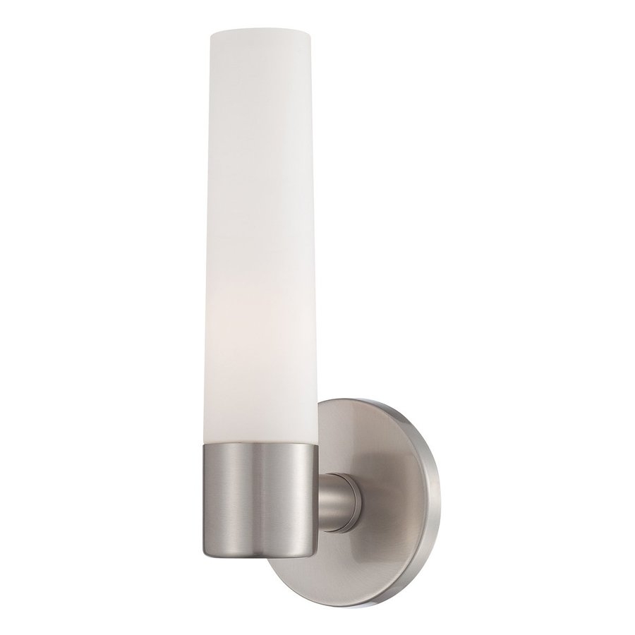Eurofase Vesper 5-in W 1-Light Brushed Nickel Arm Hardwired Wall Sconce