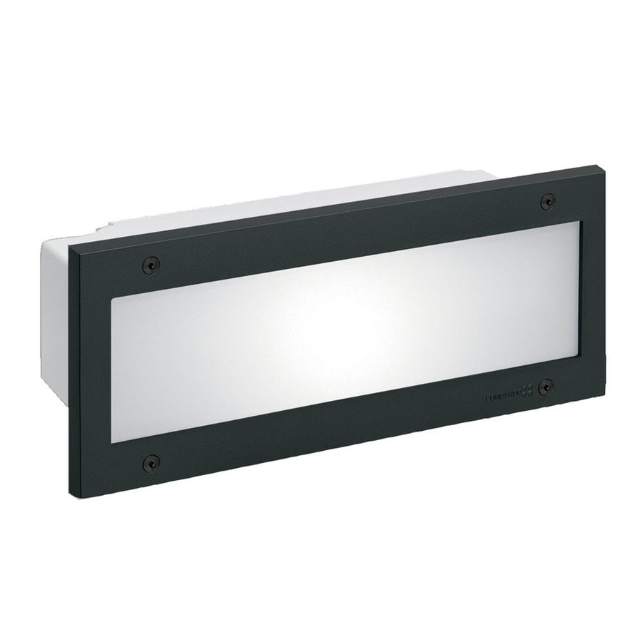 Eurofase Stile 5.43-in H Black Outdoor Wall Light
