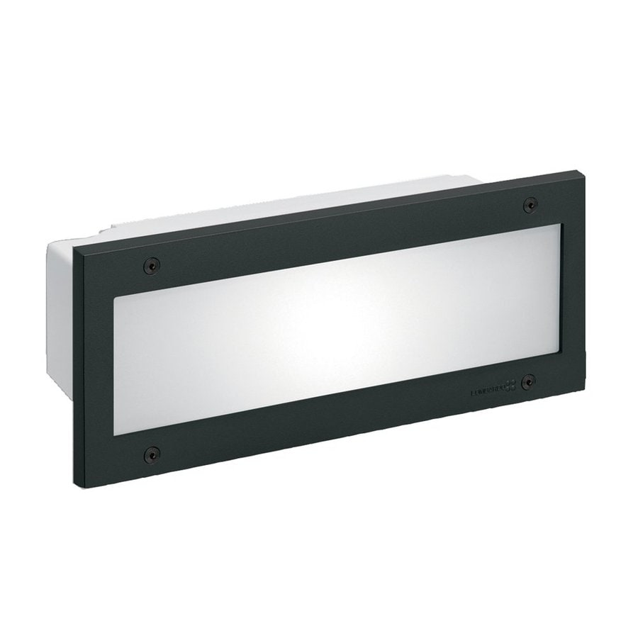 Eurofase Stile 4.75-in H Black Outdoor Wall Light