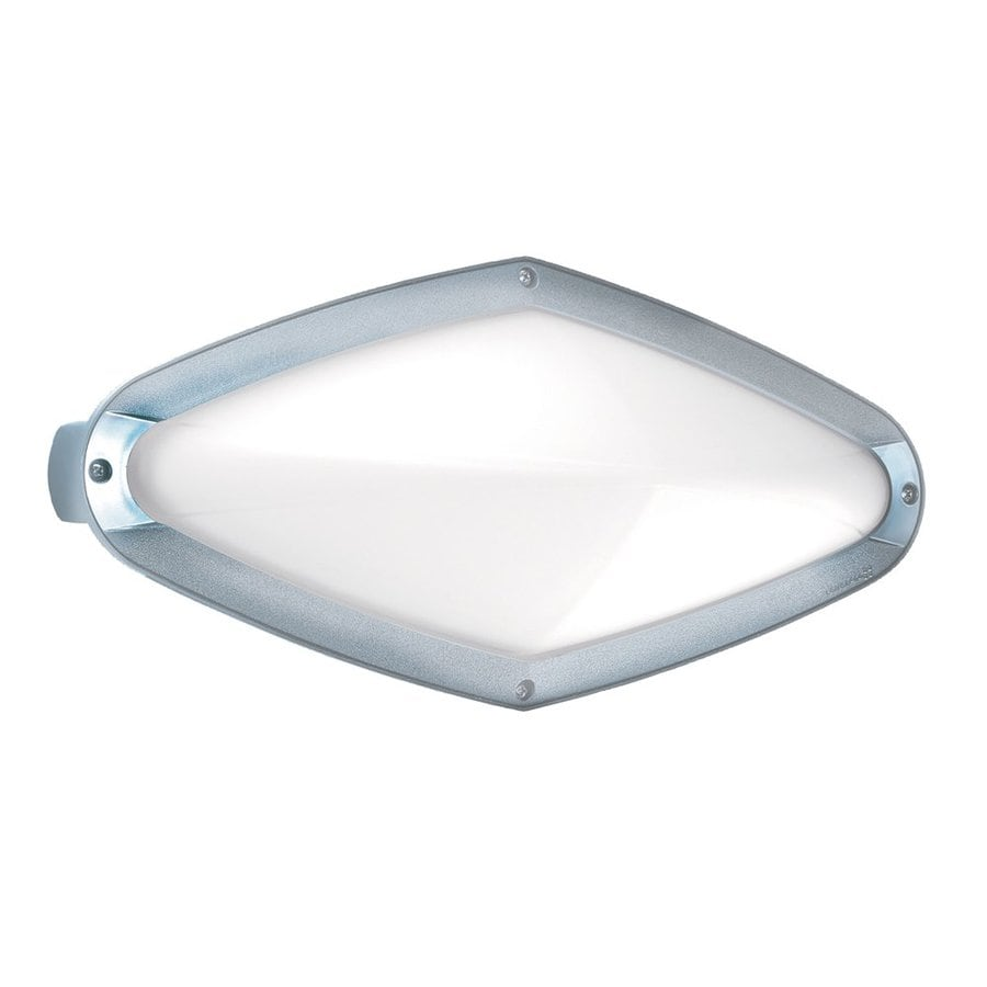 Eurofase Diva 7.12-in H Chrome Outdoor Wall Light