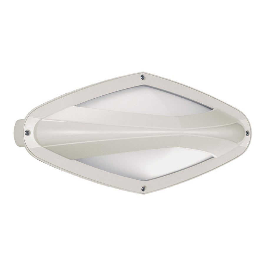 Eurofase Diva 7.12-in H White Outdoor Wall Light