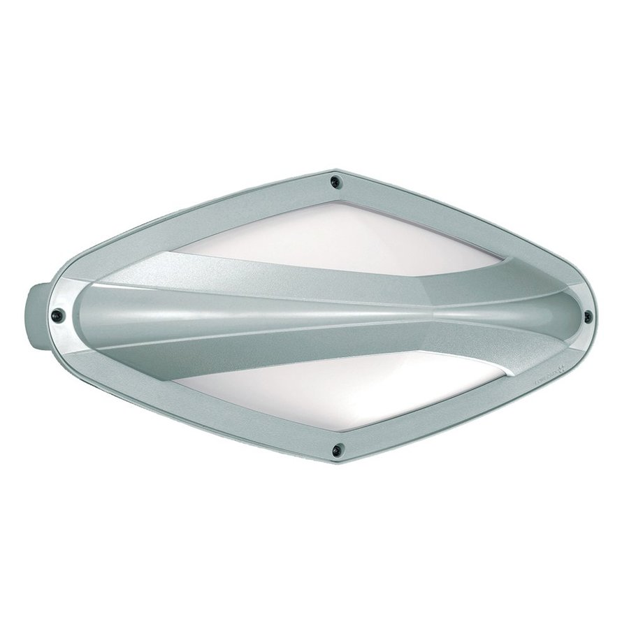 Eurofase Diva 7.12-in H Chrome Outdoor Wall Light