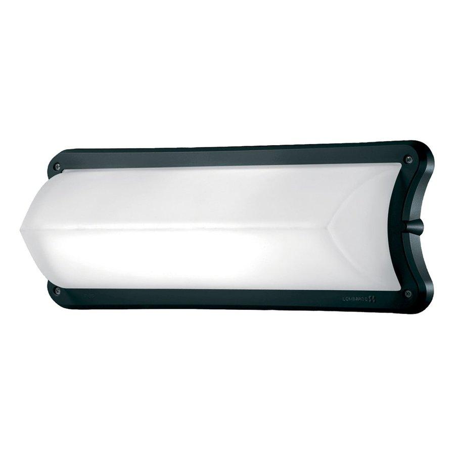 Eurofase Vela 6.18-in H Black Outdoor Wall Light