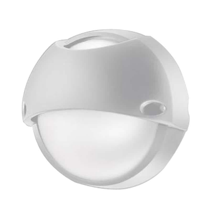 Eurofase Airy 10.43-in H White Outdoor Wall Light