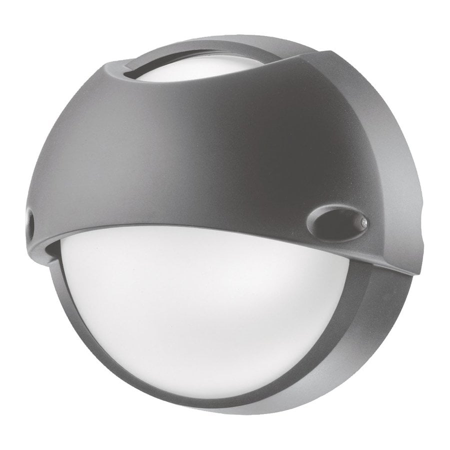 Eurofase Airy 10.43-in H Grey Outdoor Wall Light